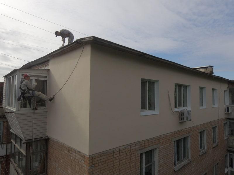 Утепление квартиры по адресу Нахимова 6
