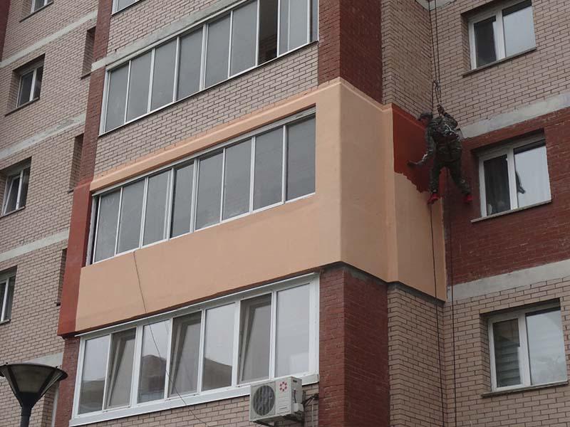 Утепление балкона на улице Кирова 72